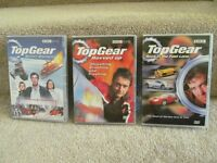 BBC Top Gear Collection DVDs x 3 Back in the Fast Lane, Revved Up & Winter Olympics