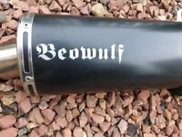 suzuki motorcycle beowulf exaust in excellant condition with link pipe