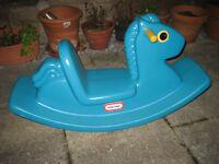 Childrens' horse rocker