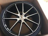 """Vw alloys. STUTGART st-9. 19"""" alloys brand new with Pirelli tyres"""