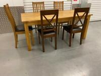 DINING TABLE & 5 CHAIRS. Free delivery!!!
