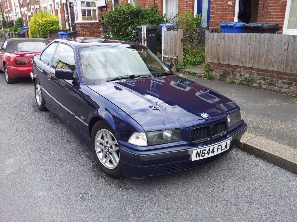 bmw e36 318is coupe n reg 1995 mot november 2017 170k miles manual m42 engine in. Black Bedroom Furniture Sets. Home Design Ideas