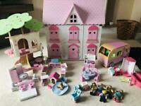 ELC Dolls house & accessories