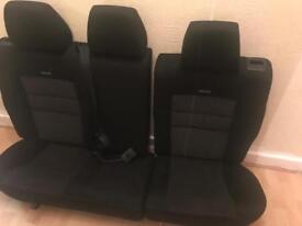 RECARO MK4 GOLF REAR SEATS