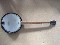 Ozark 2105GL Left Handed Banjo