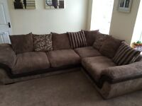 DFS Divine Mocha right hand corner suite