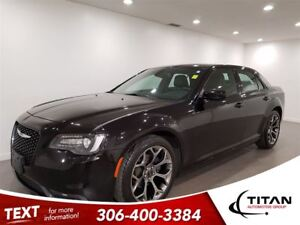 2016 Chrysler 300 S|Cam|Bluetooth|Beats by Dre|Htd Leather