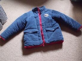 Childs blue Sea Salt padded winter coat - Like New