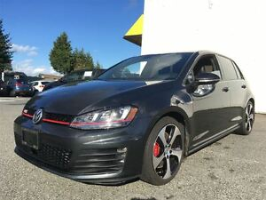 2015 Volkswagen Golf GTI 5DR PERF 2.0 TSI 220HP 6SP MANUAL