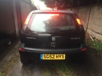 1.2 litre SXI Vauxhall Corsa For Sale, Very Reliable Car and Low Mileage