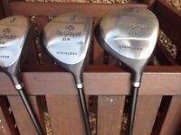 MacGregor Woods, Driver, 3 and 5 woods
