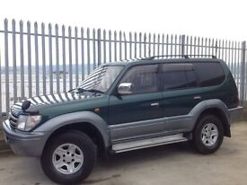 TOYOTA LAND CRUISER PRADO 3.0 TZ TD AUTO 4X4 GREEN ++ LOW MILEAGE!!! ++