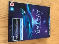 Avatar, extended blue ray, collectors edition