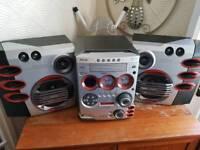 5 CD changer radio/of link/game link