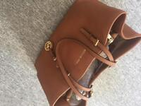 Genuine Michael Kors tan Jet Set bag