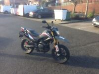 Keeway tx 125 one previous owner supermoto