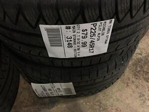 225/45/17 Michelin Pilot Alpin *Winter Tires*