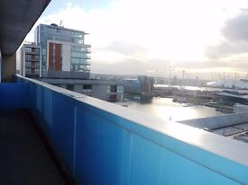 STUNNING ONE BED APARTMENT IN ROYAL DOCKS WITH RIVER VIEWS