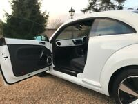 VW Automatic Beetle 15 White