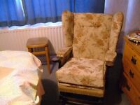 ROCKING ARMCHAIR LITTLE USED