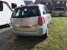 Vauxhall Zafira Very good condition, all round useful vehicle 7 seats, good engine and bodywork.