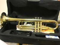 SB-TR121 BbTrumpet By Satch Brass New With Case