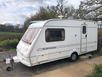 Abbey Expression 470 Michael Johnson 2 berth Caravan