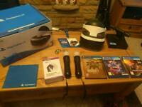 PlayStation VR bundle with games