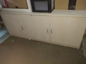Excellent condition solid long cabinet