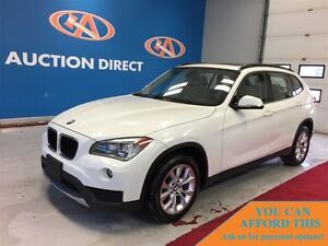 2014 BMW X1 xDrive28i, LEATHER, HEATED SEATS, PANO ROOF, FINAN
