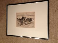 'Old Buckhaven' Lithograph