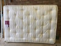 Double mattress for bed