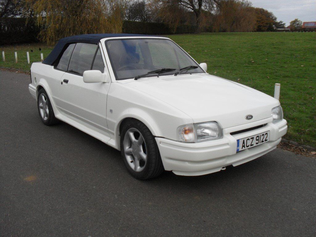 1988 ford escort xr3i cabriolet mk4 in mint condition reconditoned engine gearbox stunning car. Black Bedroom Furniture Sets. Home Design Ideas