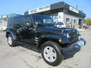 2010 Jeep Wrangler Unlimited Sahara Unlimited 4x4 4 Doors Automa