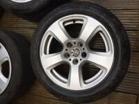 BMW Alloy Wheel with RFT Tyers