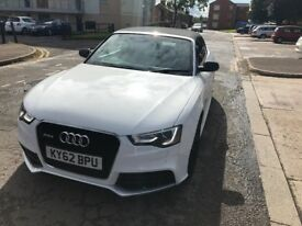 Stunning White A5 Convertible