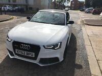 Stunning White A5 Convertible