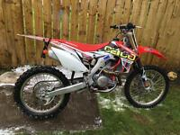 Honda crf 450r 2013 best about mature owner done 12 hours from new