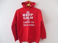 Red Keep Calm Hoodie