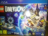 LEGO DIMENSIONS SUPERGIRL STARTER PACK FOR PS4 BRAND NEW SEALED