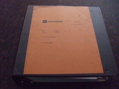 John Deere 410j 410tmc Backhoe Loader Parts Book Manual Pc10006