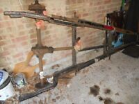 Austin 7 Classic Car Chassis & Cherised Plate - AAA
