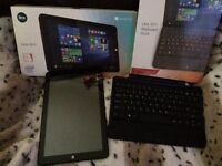 """Linx 10.1""""windows tablet with keyboard"""