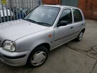 Nissan micra 2001 silver 5 door breaking for parts