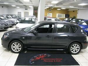 2007 Mazda MAZDA3 SPORT 5SPD!!! LOADED!!! HATCH!!! ALLOYS!!!