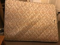 King size airdprung matress