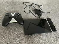 Nvidia shield tv 16gb controller and remote included