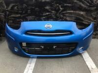 Nissan micra 2012 2013 2014 genuine front bumper for sale
