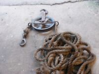 rope pulley for sale