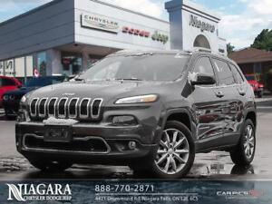 2018 Jeep Cherokee LIMITED | NAVI | LEATHER | REMOTE START